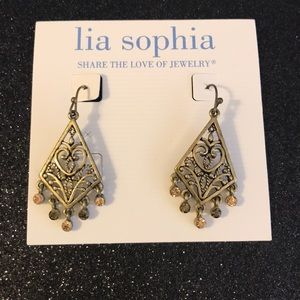 Lia Sophia Jewelry - Lia Sophia bronze earrings